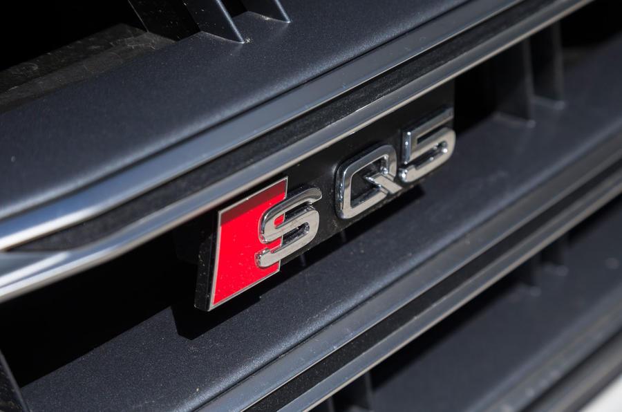 Audi SQ5 badging