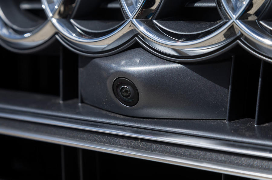 Audi SQ5 front view camera