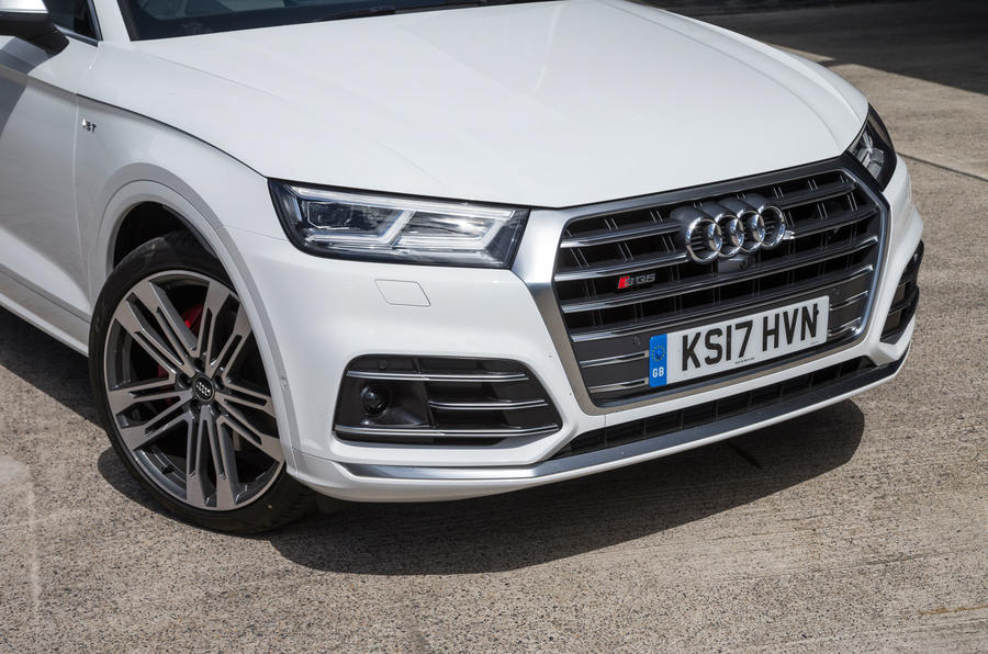Audi SQ5 front end