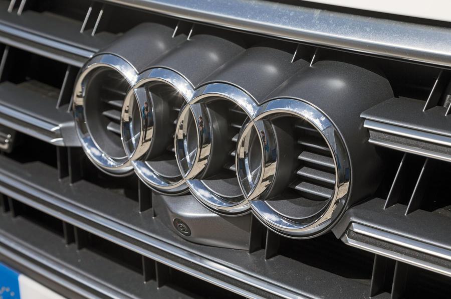 Audi badging
