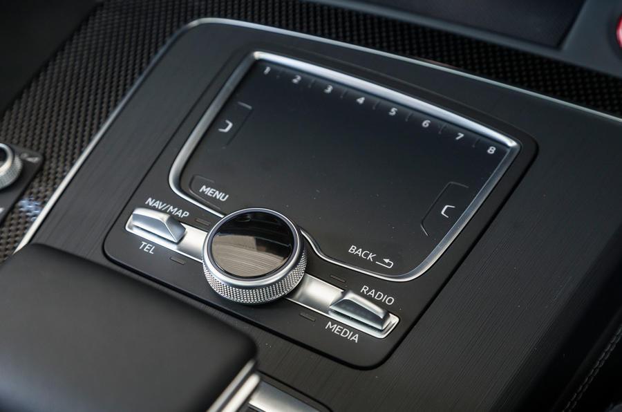 Audi SQ5 infotainment controller