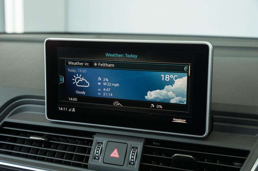 Audi SQ5 MMI online services