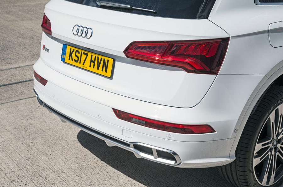Audi SQ5 rear end