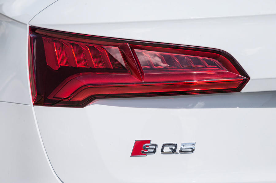 Audi SQ5 rear LED lights