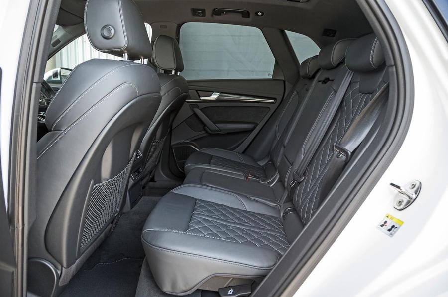 Audi SQ5 rear seats