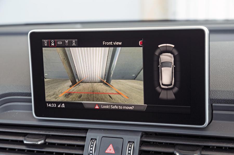 Audi SQ5 reversing camera