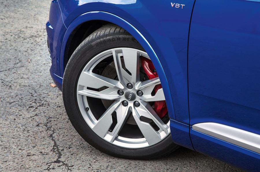 21in Audi SQ7 alloy wheels