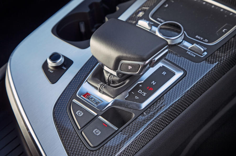 Audi SQ7 automatic gearbox