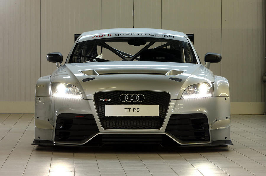 Audi TT RS racer - first pics