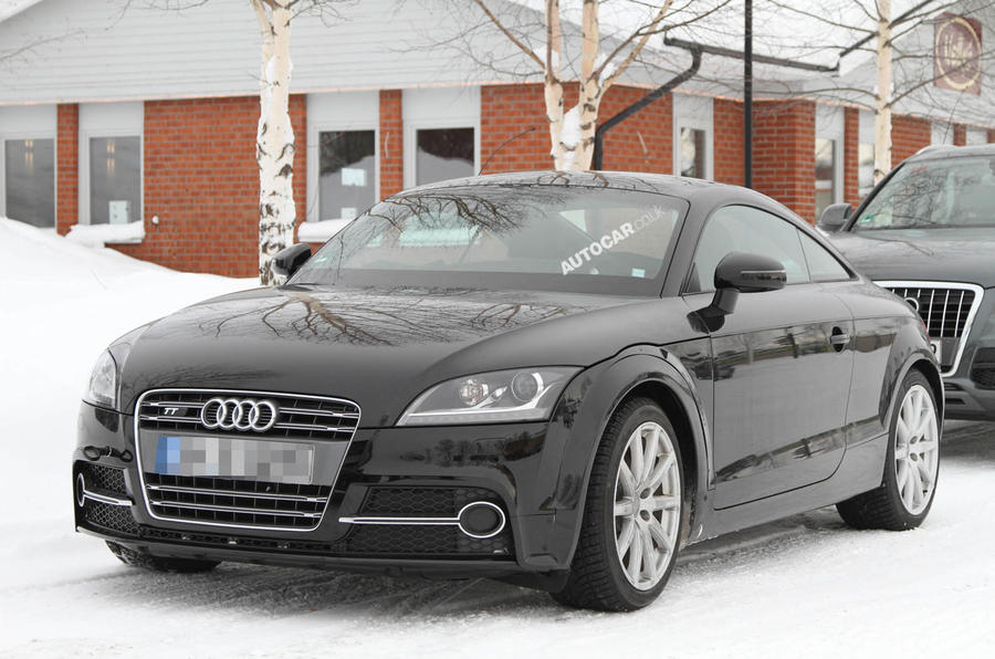 Next Audi TT - first pics