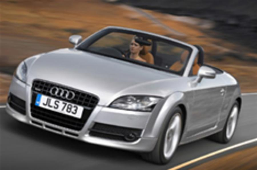 Audi confirms TT roadster prices
