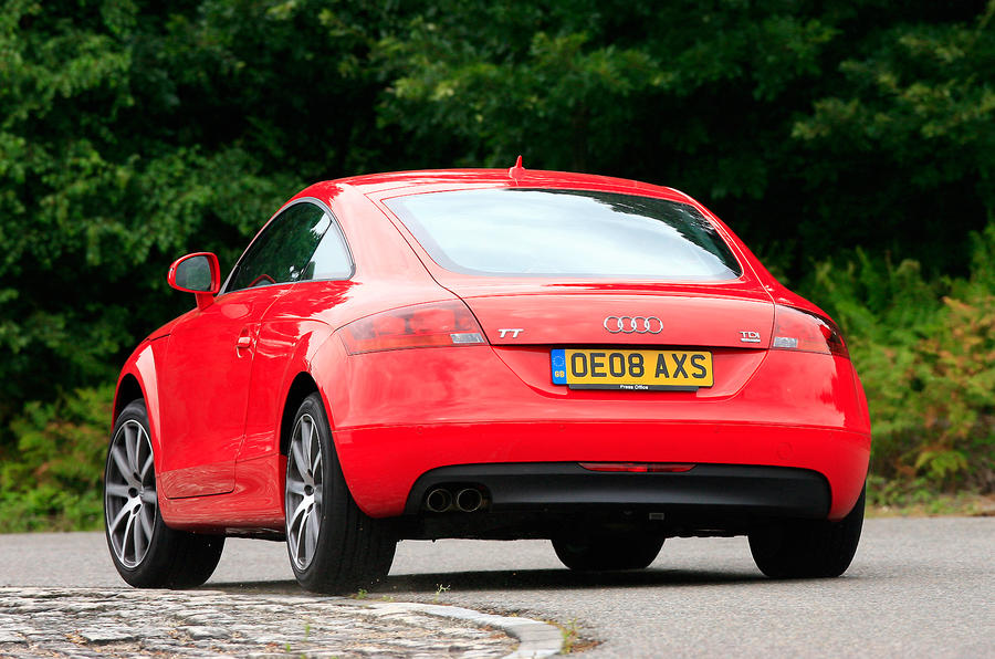 Second-generation Audi TT