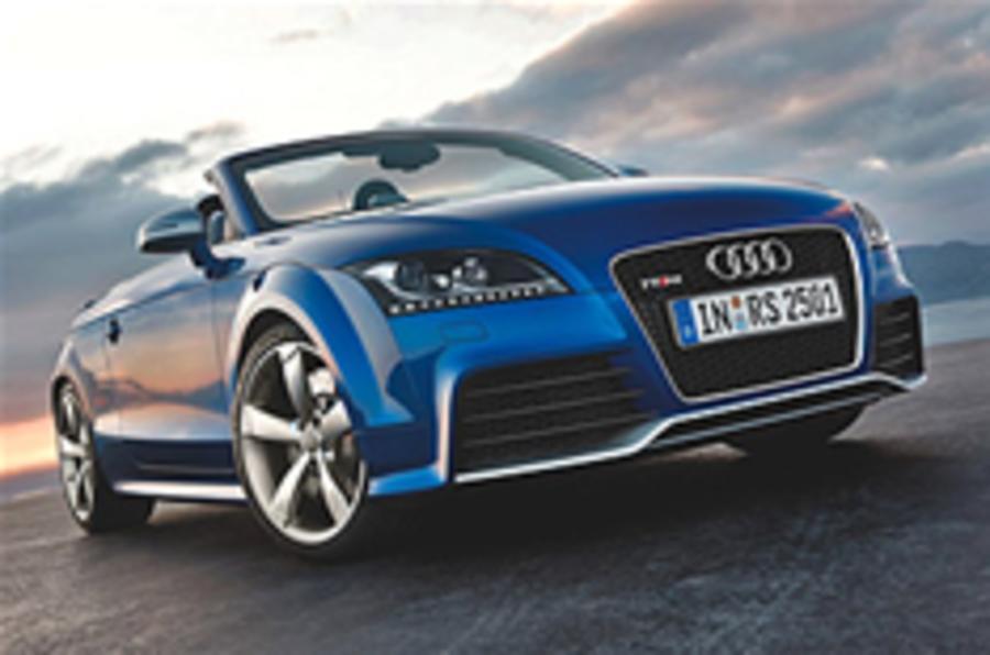 Audi reveals TT RS Roadster
