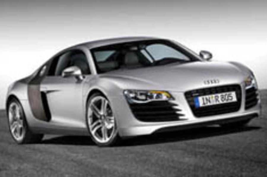 Paris show: Audi unveils the R8