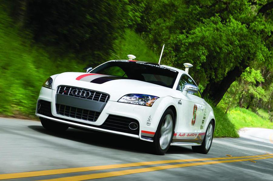 Audi's autonomous TT racer