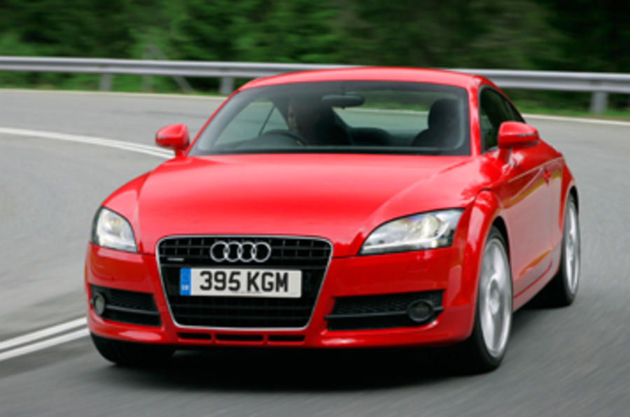 Leipzig show: Audi TT facelift