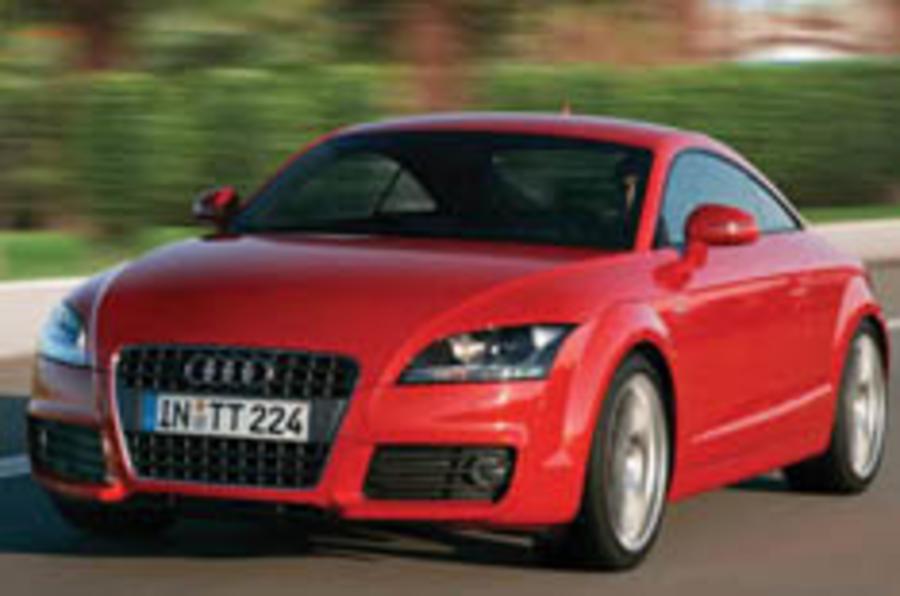 Audi reveals TT S-Line
