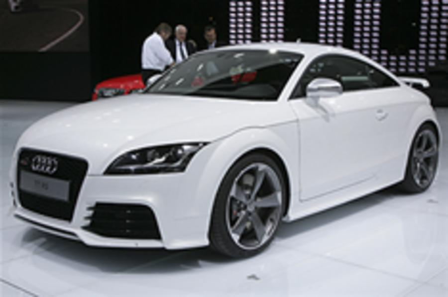 Officially unveiled: Audi TT RS