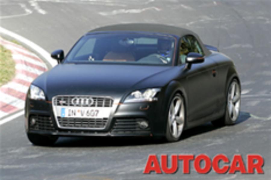 Audi's fast TT trio: TTS, TTRS, TT TDi