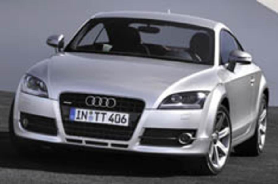 Wraps come off Audi's new TT