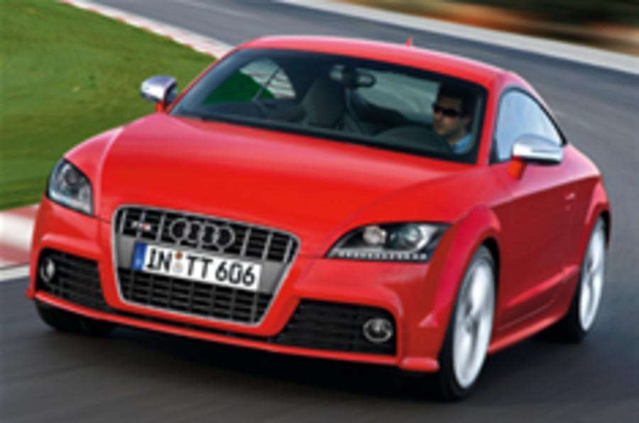It's the TT 'GTi': Audi's TTS