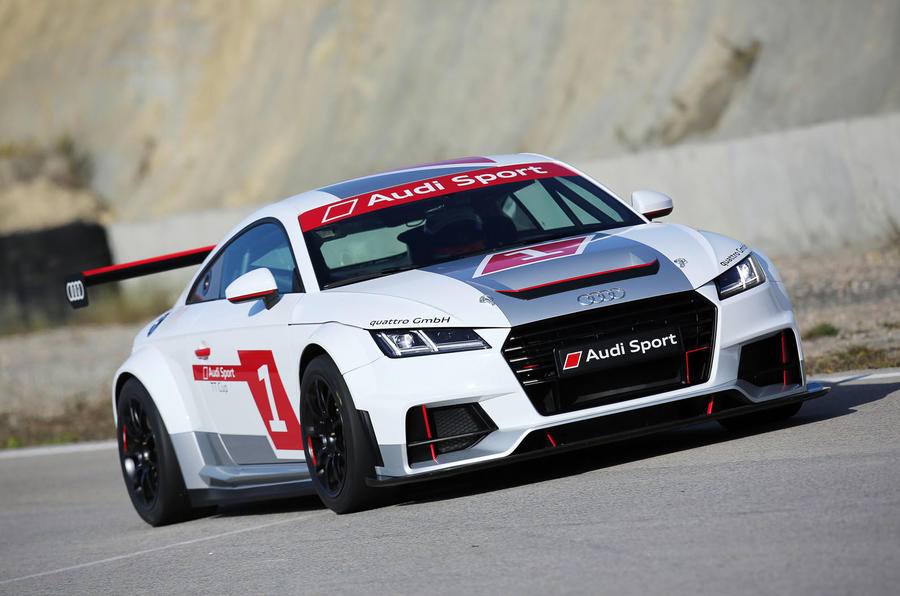 Audi unleashes racing version of the new TT