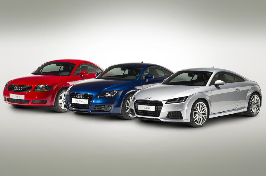 New Audi Tt Meets Its Ancestors Picture Special Autocar