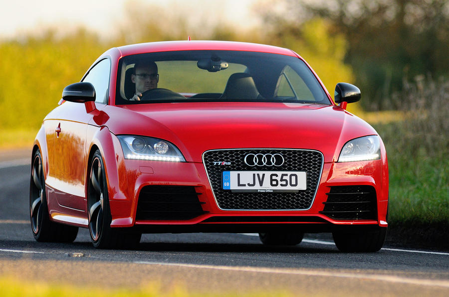 New Audi TT meets its ancestors - picture special