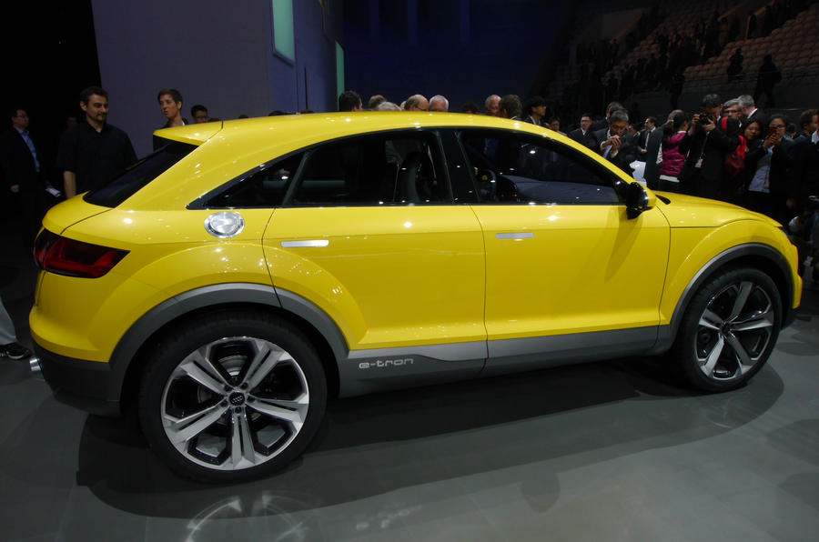Audi TT offroad concept show car unveiled in Beijing