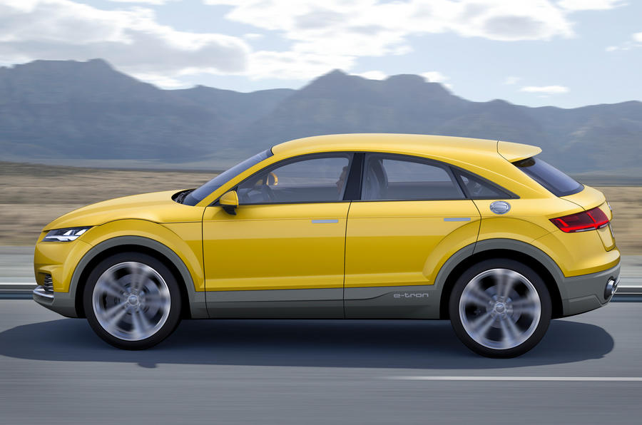 Audi TT offroad concept show car unveiled