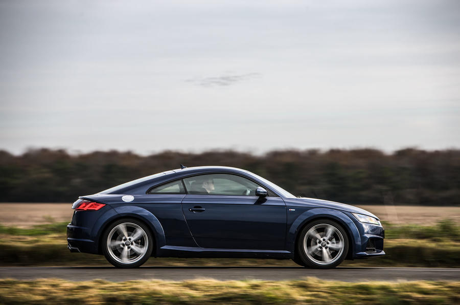 The Audi TT ride lacks compliance on the S Line 19in wheels