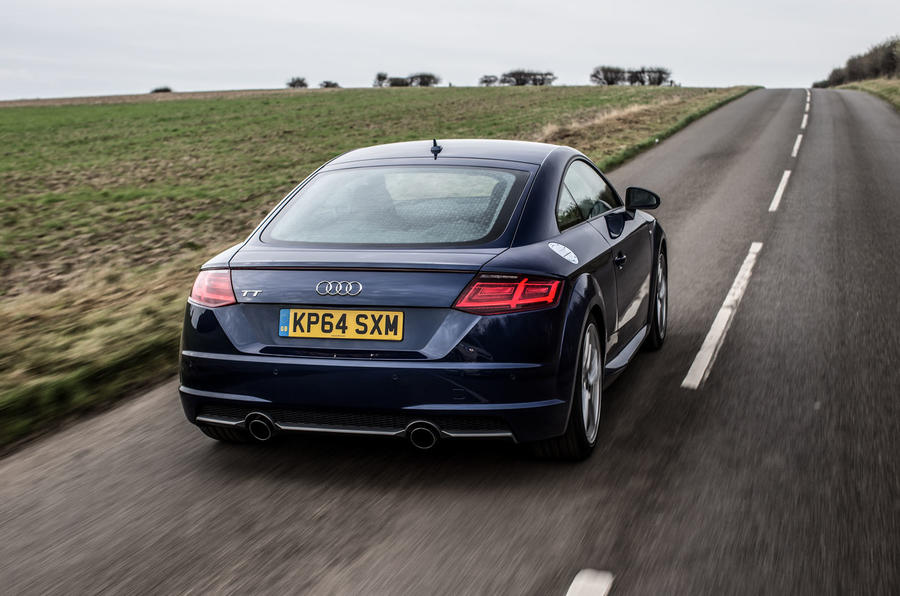 The 1998 Audi TT, the original, has become a design icon