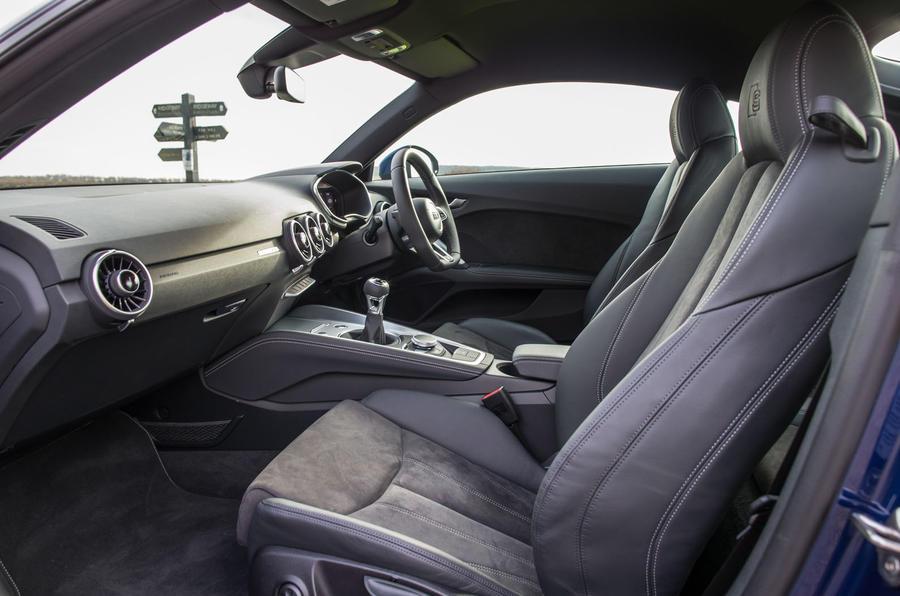 Inside the Audi TT