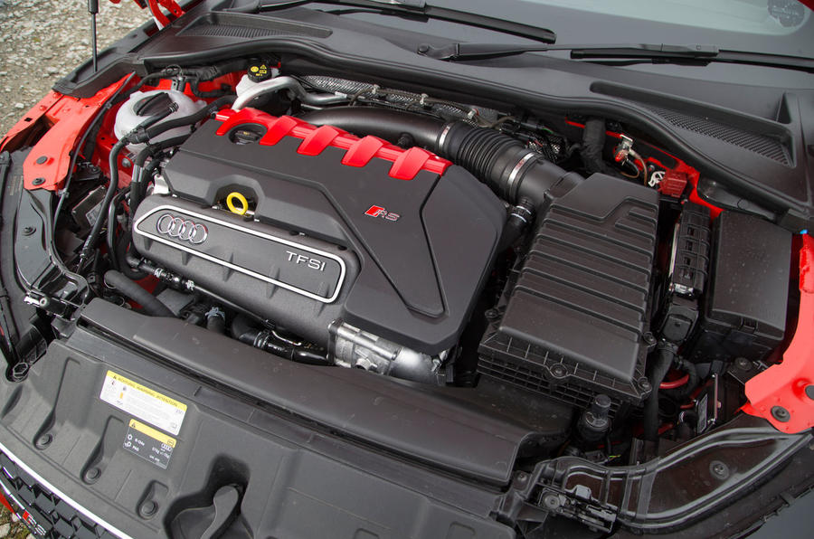 2.5-litre TFSI Audi TT RS engine