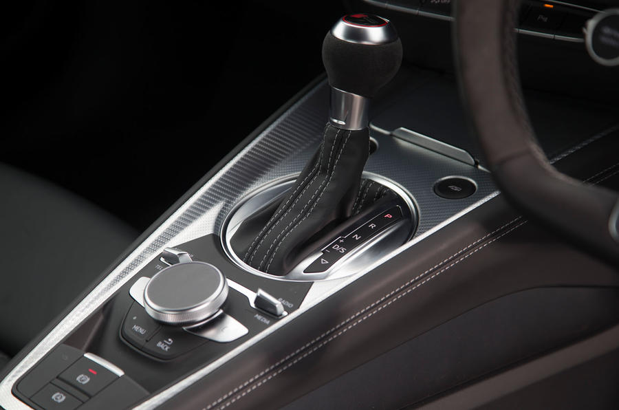 Audi TT RS S-tronic automatic gearbox