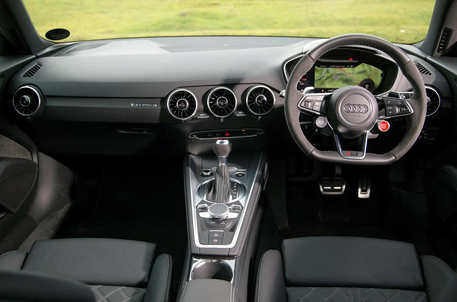 Audi TT RS dashboard