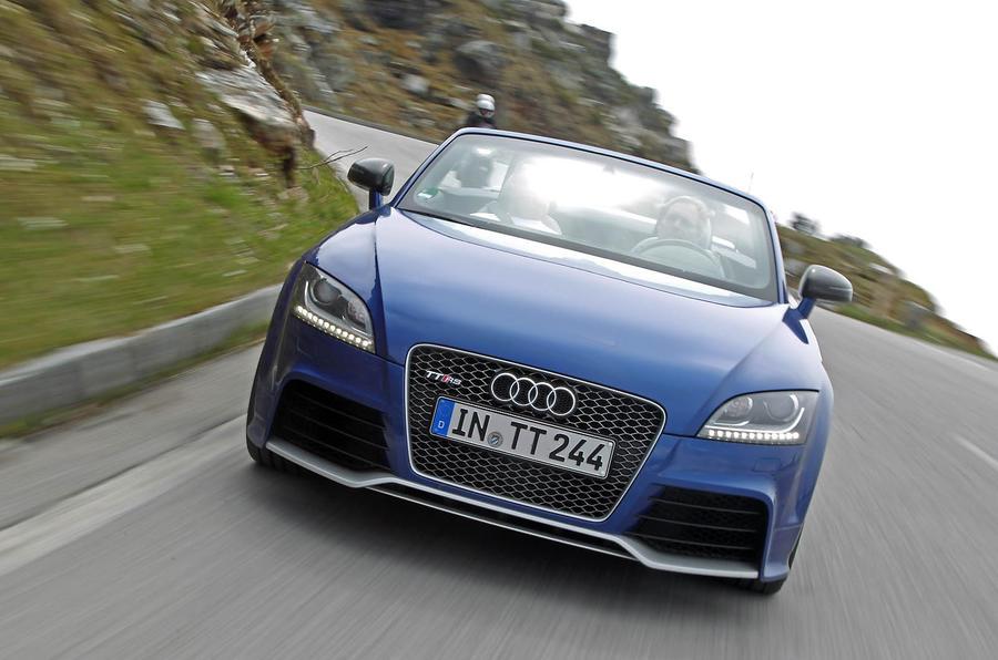Audi TT RS front end