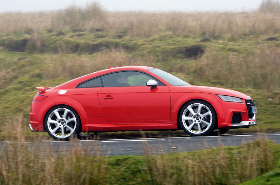 Audi TT RS side profile