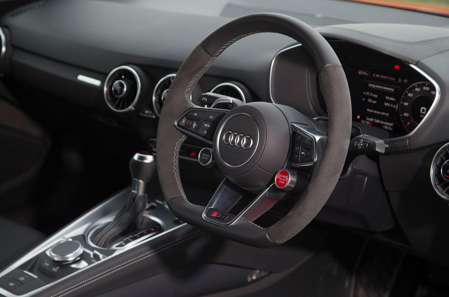 Audi TT RS steering wheel
