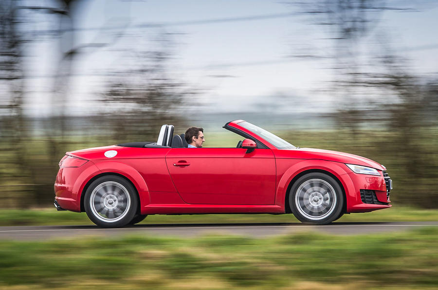 Audi TT Roadster can come with Quattro