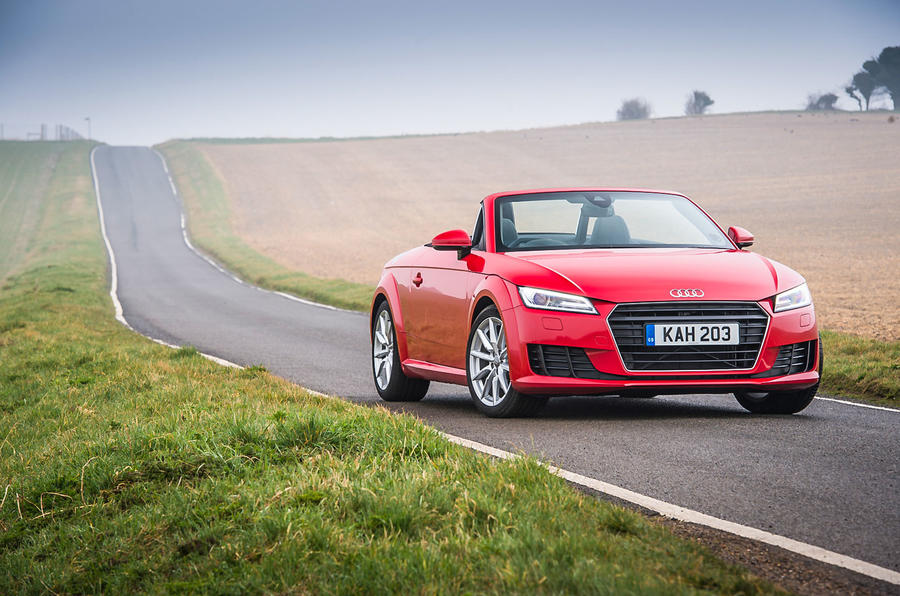The third-gen Audi TT Roadster