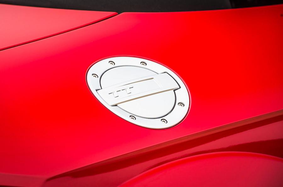 Audi TT Roadster's fuel cap