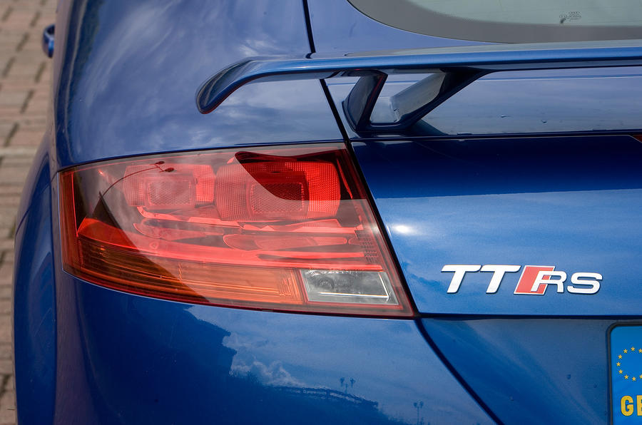 Audi TT RS's rear lights