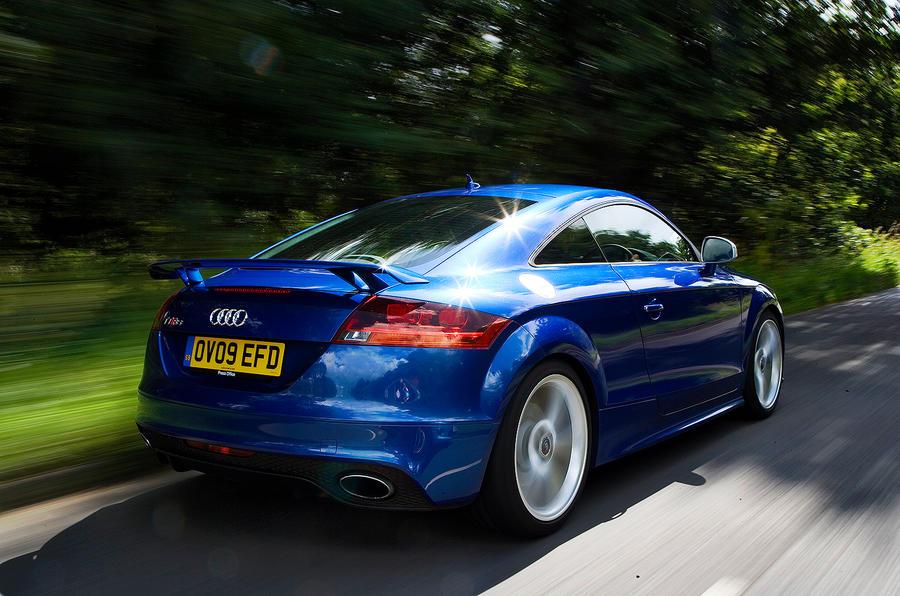 The £42,895 Audi TT RS