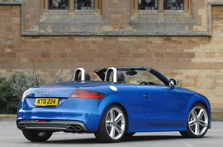 Audi TTS Roadster rear