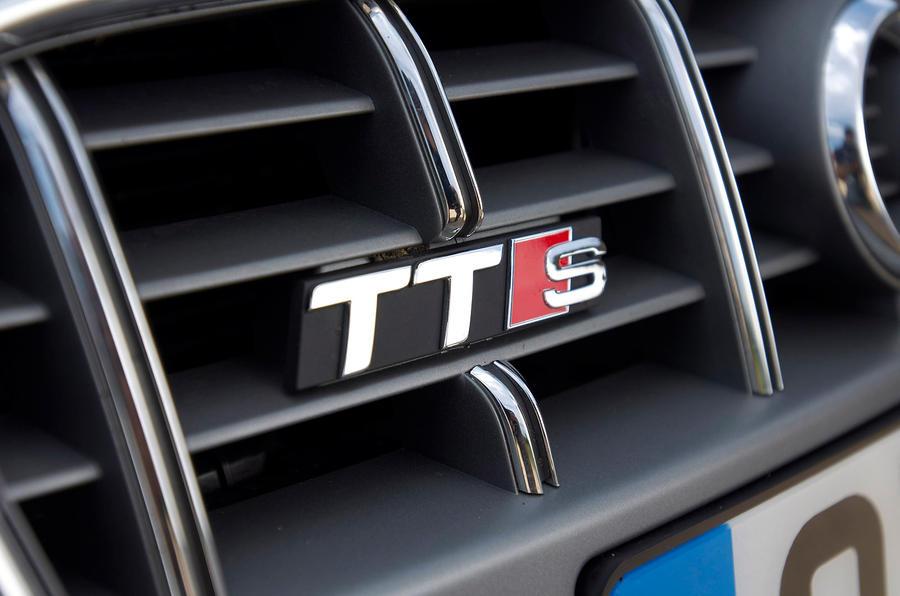 Audi TTS badging