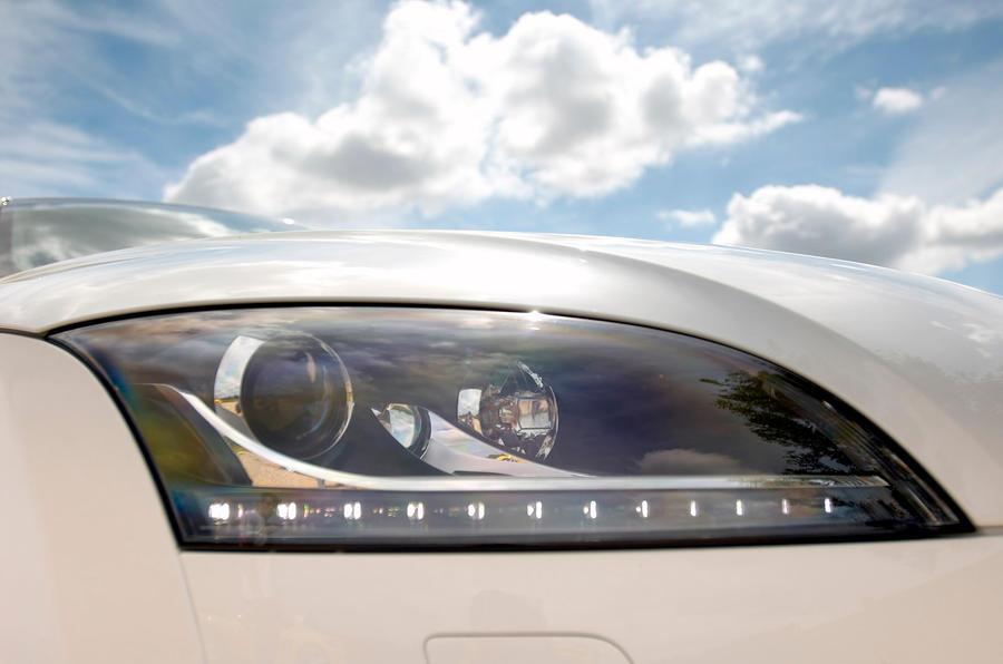 Audi TTS front headlights