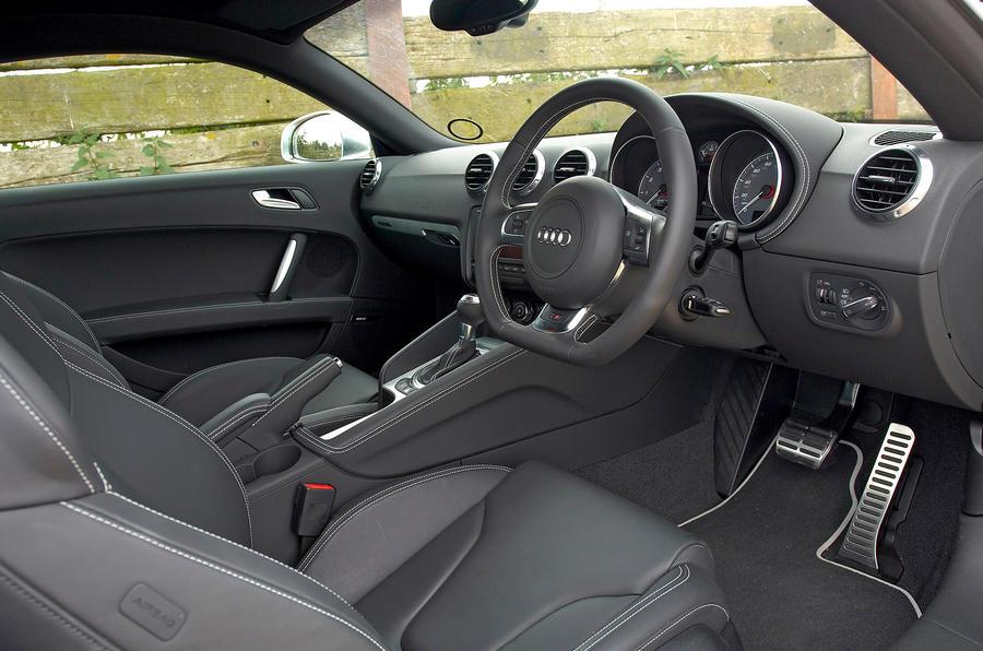 Audi TTS's interior