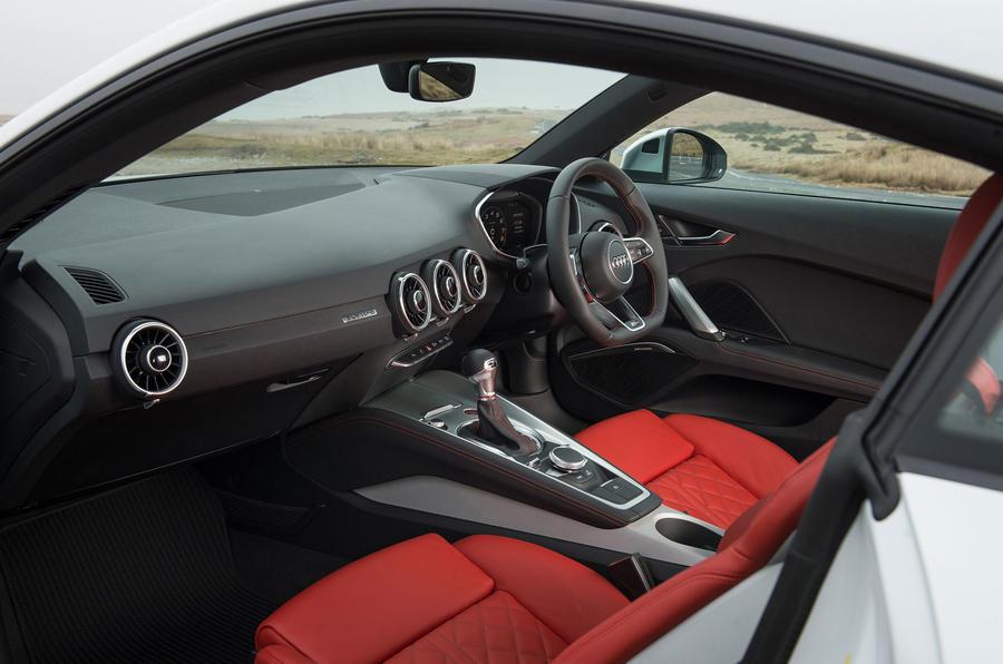 Audi TTS interior