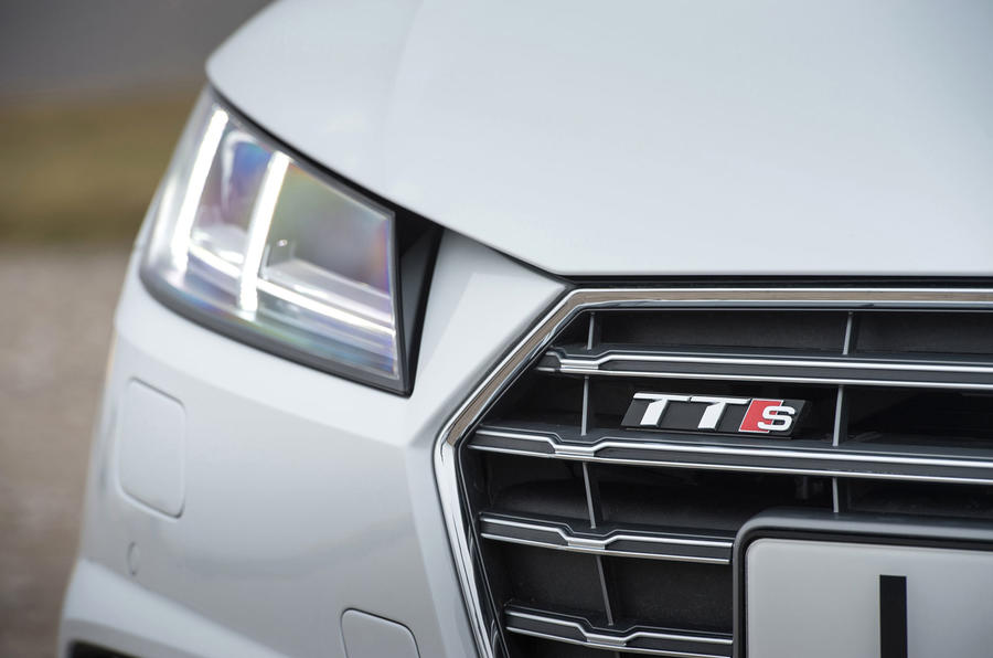 Audi TTS LED headlights